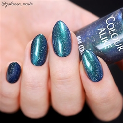 726 Northern Lights, Holografisk Topcoat, Colour Alike